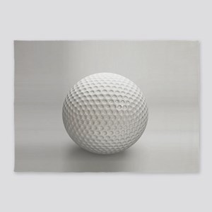 Golf Ball Sport 5'x7'Area Rug